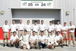 photoshoot de l'équipe Ocean Racing Technology