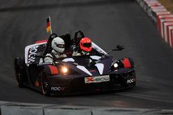 Quarter final, race 7: Michael Schumacher