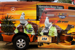 Team FleetBoard Mercedes-Benz: vehicles