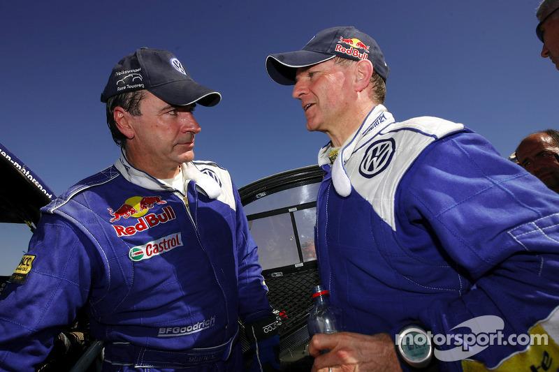 Carlos Sainz et Michel Périn