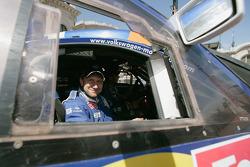 Car category winning co-driver Dirk Von Zitzewitz