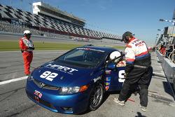 #92 HART Honda Civic SI: Chad Gilsinger, John Schmitt