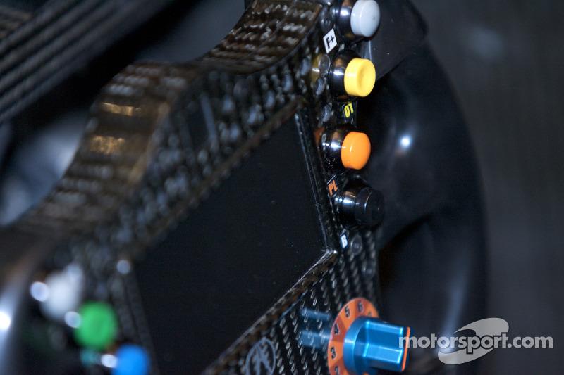 #9 Patron Highcroft Racing Acura ARX 02a Acura steering wheel