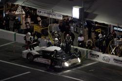 Pit stop for #61 AIM Autosport Ford Riley: David Empringham, John Farano, Alex Figge, Burt Frisselle, Mark Wilkins