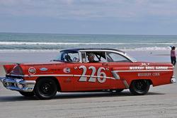 Living legends of auto racing beach parade: Mercury