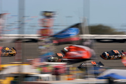 Racing through flags in turn 3