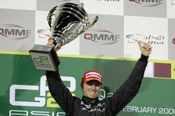 Podium: winner Nico Hulkenberg