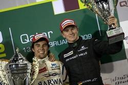 Подіум: переможець Серхіо Перес і Ніко Хюлькенберг