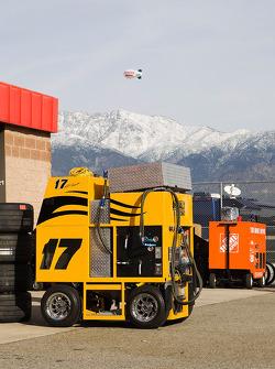 A view of the San Bernardino mountains