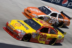 Kevin Harvick and Joey Logano
