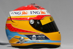 Fernando Alonso, Renault F1 Team, kask