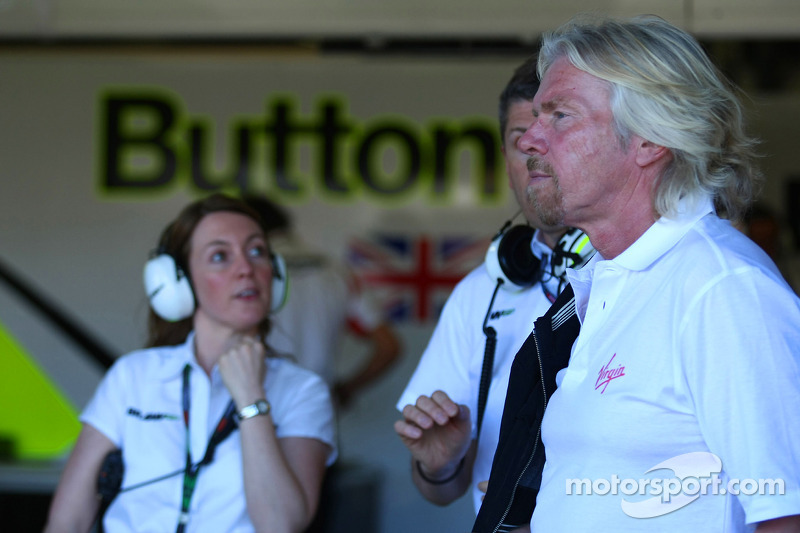 Sir Richard Branson CEO of the Virgin Group