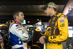 Bobby Labonte, Hall of Fame Racing Ford and David Ragan, Roush Fenway Racing Ford