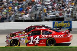 David Stremme, Penske Racing Dodge, Clint Bowyer, Richard Childress Racing Chevrolet