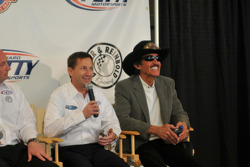 John Andretti with Richard Petty