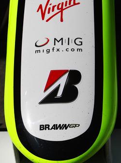 Brawn GP, nose, detail