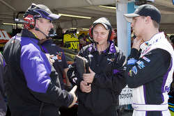 Denny Hamlin, Joe Gibbs Racing Toyota, with crew chief Mike Ford