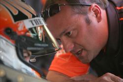 Joey Logano, Joe Gibbs Racing Toyota with crew chief Greg Zipadelli