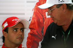 Felipe Massa, Scuderia Ferrari ve babası Luis Antonio Massa