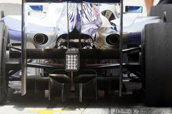 Rear diffusor of Nico Rosberg, Williams F1 Team