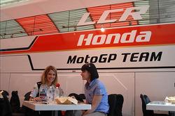 LCR Honda MotoGP Team hospitality