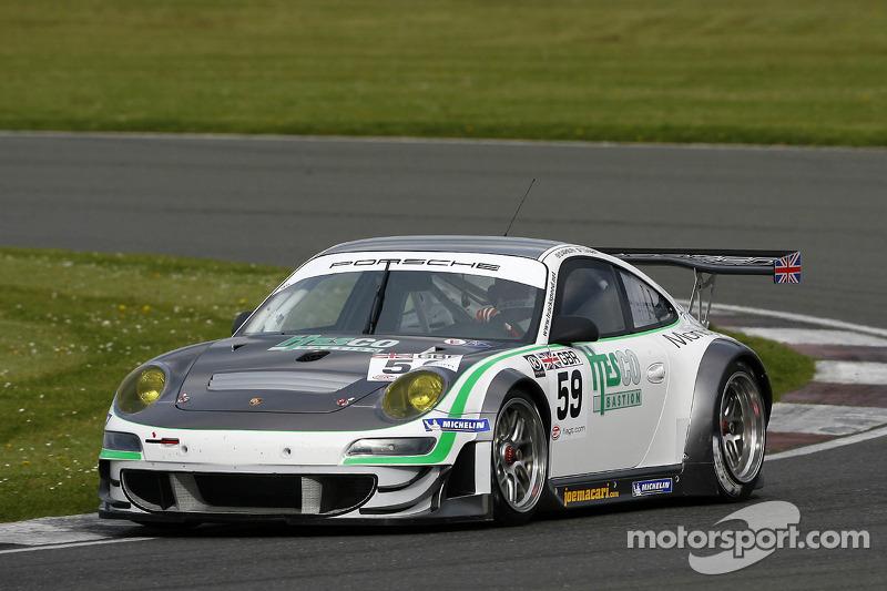 #59 Trackspeed Porsche 997 GT3 RSR: Tim Sugden, David Ashburn