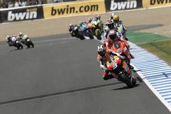 Dani Pedrosa, Repsol Honda Team leads the field