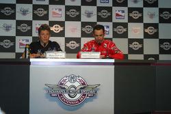 Press conference: Marco Andretti, Andretti Green Racing, and Helio Castroneves, Team Penske