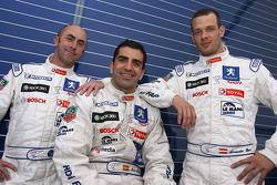 David Brabham, Marc Gene and Alexander Wurz