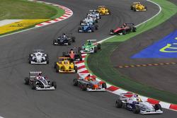 Start Jack Te Braak, Muecke Motorsport, Timmy Hansen, Muecke Motorsport and Facu Regalia, Josef Kaufmann Racing