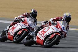 Николо Канепа, Pramac Racing, и Мика Каллио, Pramac Racing
