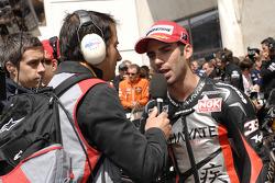 Second place Marco Melandri, Hayate Racing Team