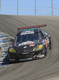 #70 SpeedSource Mazda RX-8: Nick Ham, Sylvain Tremblay