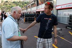 Norbert Vettel, Father of Sebastian Vettel with his son Sebastian Vettel, Red Bull Racing