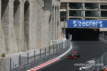 No DRS ovetaking in tunnel during Monaco GP