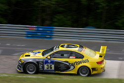 #36 Sartorius Team Black Falcon BMW E92 M3: Bona Ventura, Dillon Koster, Diego Romanini, Christer Joens