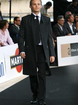 Nico Rosberg, Williams F1 Team at the fashion show