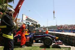 Sebastian Vettel, Red Bull Racing and Sebastien Buemi, Scuderia Toro Rosso cars