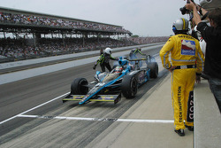 Pit stop for Alexi Tagliani, Conquest Racing
