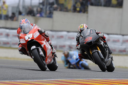 Nicky Hayden and Marco Melandri