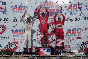 IndyCar podium finish in 2009