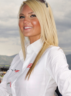 Charming Aprilia Racing girl