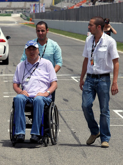 Philippe Streiff Former F1 driver on the grid