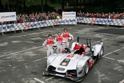 #2 Audi Sport Team Joest Audi R15 TDI: Marco Werner, Lucas Luhr, Mike Rockenfeller