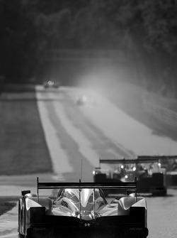 #9 Team Peugeot Total Peugeot 908: Alexander Wurz, David Brabham, Marc Gene
