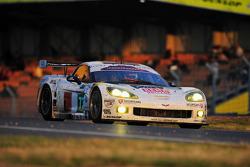 #73 Luc Alphand Aventures Corvette C6.R: Xavier Maassen, Yann Clairay, Julien Jousse