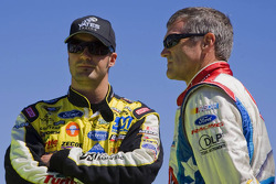 Paul Menard, Yates Racing Ford, Bobby Labonte, Hall of Fame Racing Ford