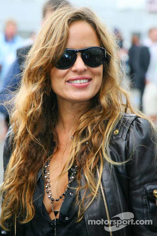 Jade Jagger Daughter Of Mick Jagger At British Gp