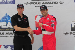 Helio Castroneves and Will Power