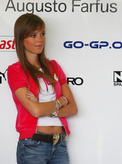 Liri Farfus, wife of Augusto Farfus, BMW Team Germany